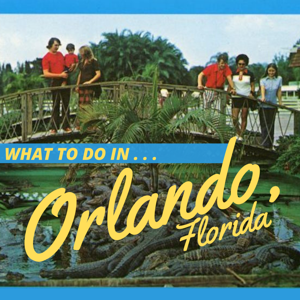 With more to see and do than almost anywhere else in the country, Orlando is a a tropical paradise for locals and visitors alike.
