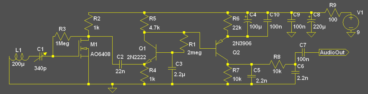 Make a useful AM receiver using simple components.
