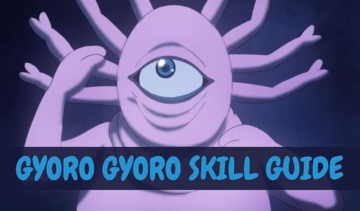 """Gyoro Gyoro's Skills in """"One Punch Man: The Strongest"""""""