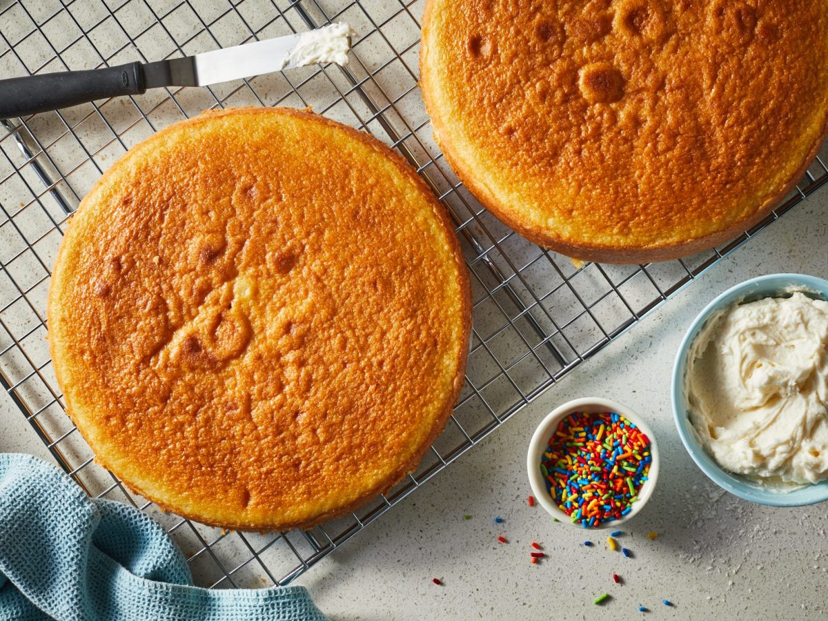 Vanilla Egg Cake