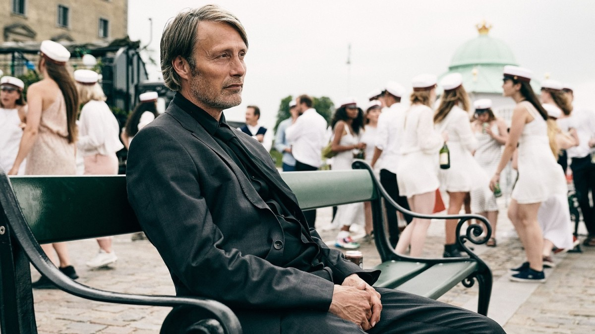 "Mads Mikkelsen as Martin in, ""Another Round."""