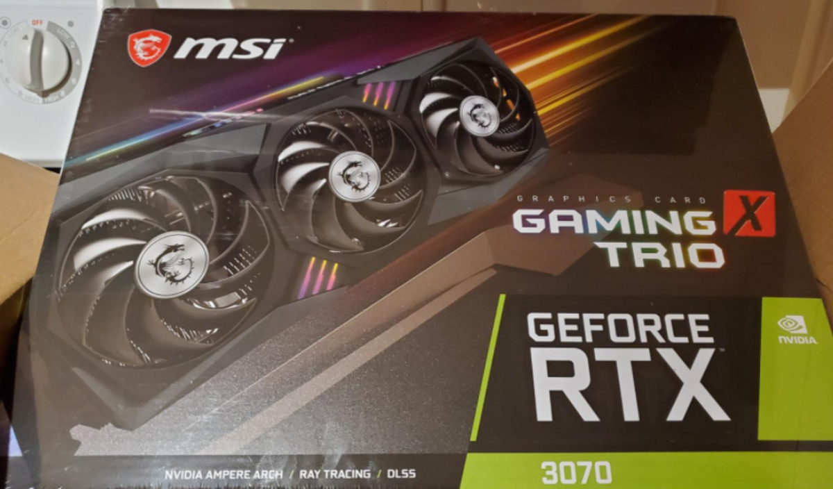 A rare sighting of the RTX 3070. If you can snag one anywhere near $500, go for it.