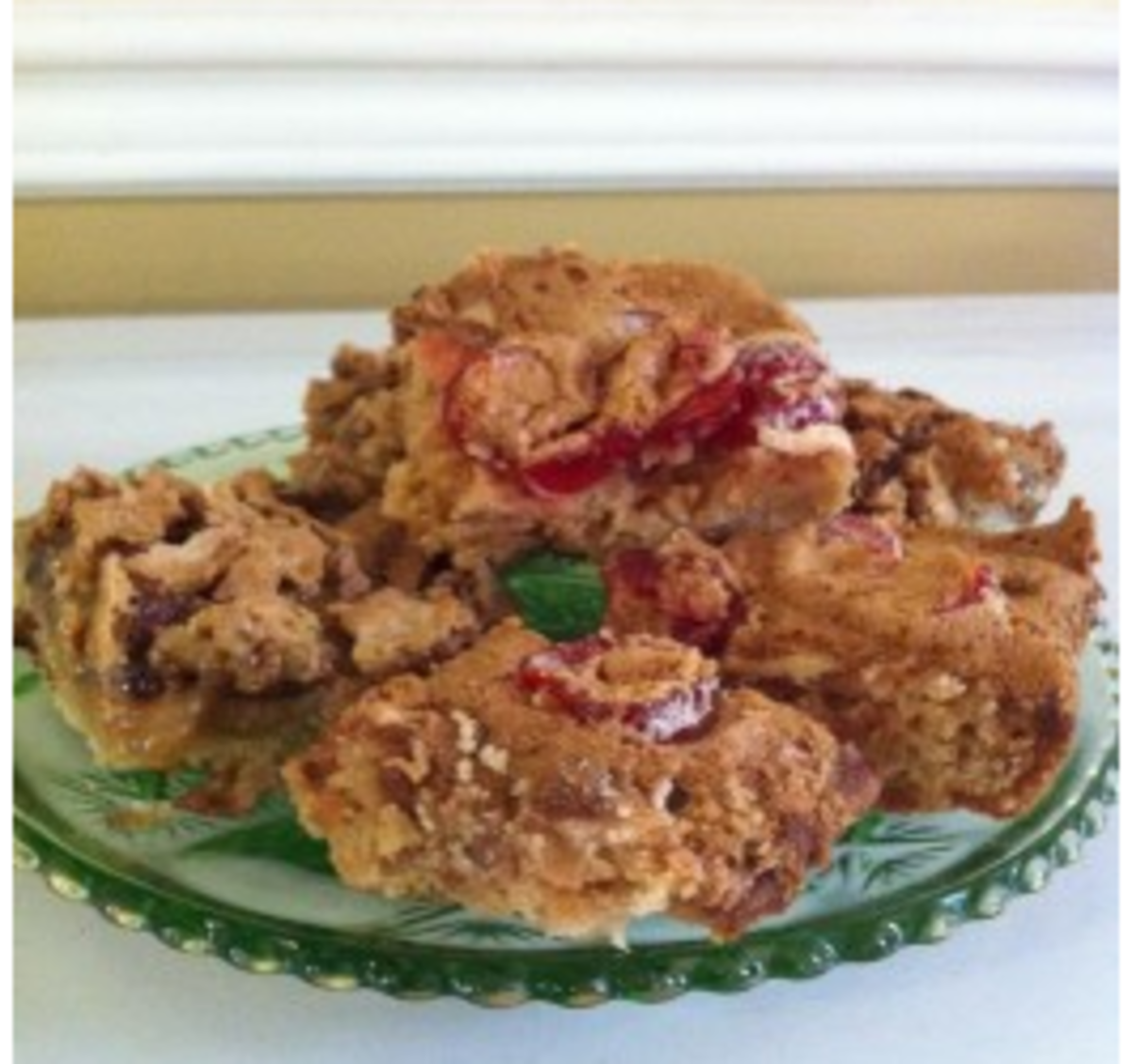 Butter Tart Squares and Cherry Squares