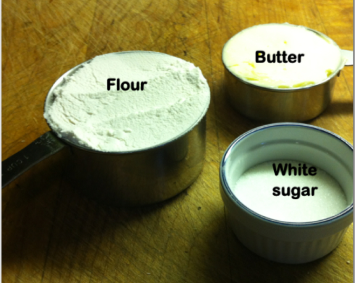 Ingredients for the base