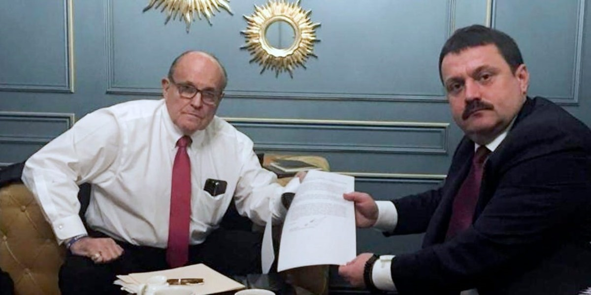 Giuliani and Derkach