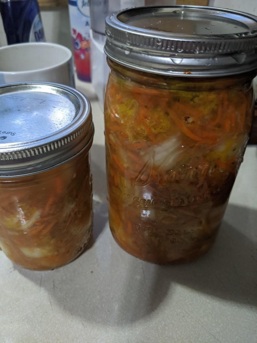 Kimchee - a New Twist on Old Sauerkraut