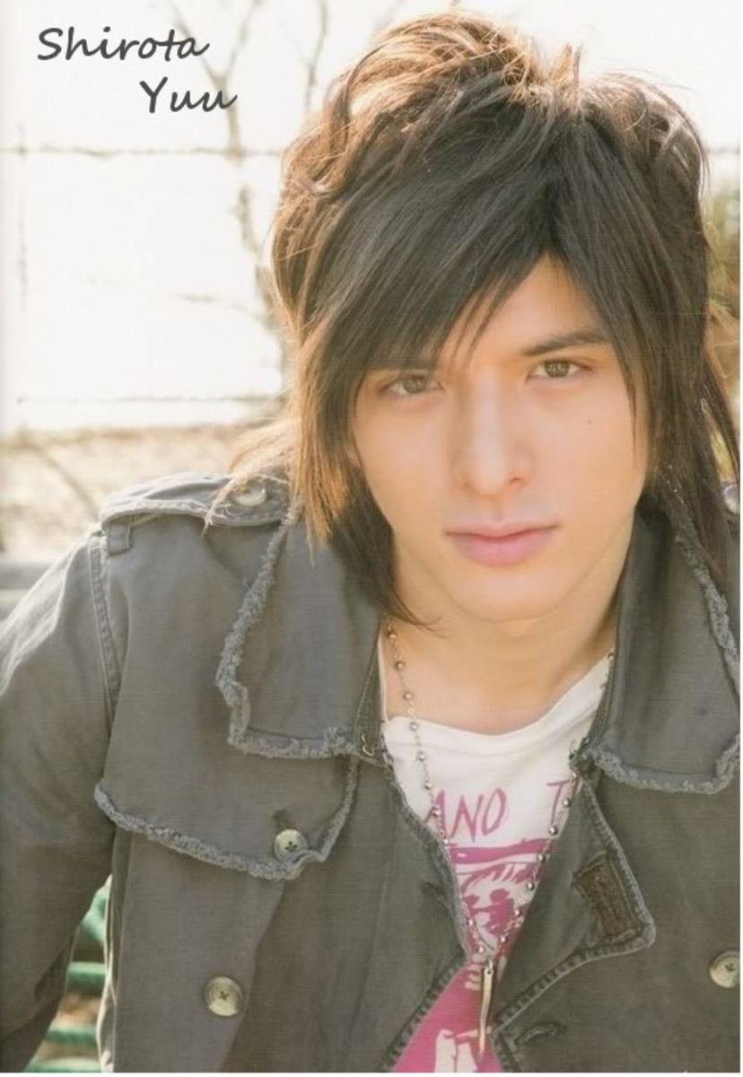 Shirota Yuu hairstyle.