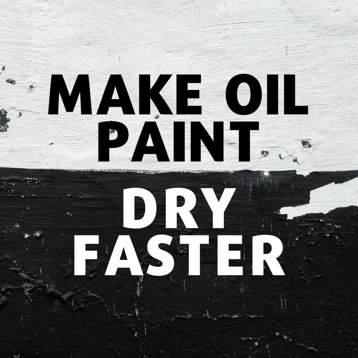 Learn why you might want to make oil paint dry faster and which additives can help make it happen.