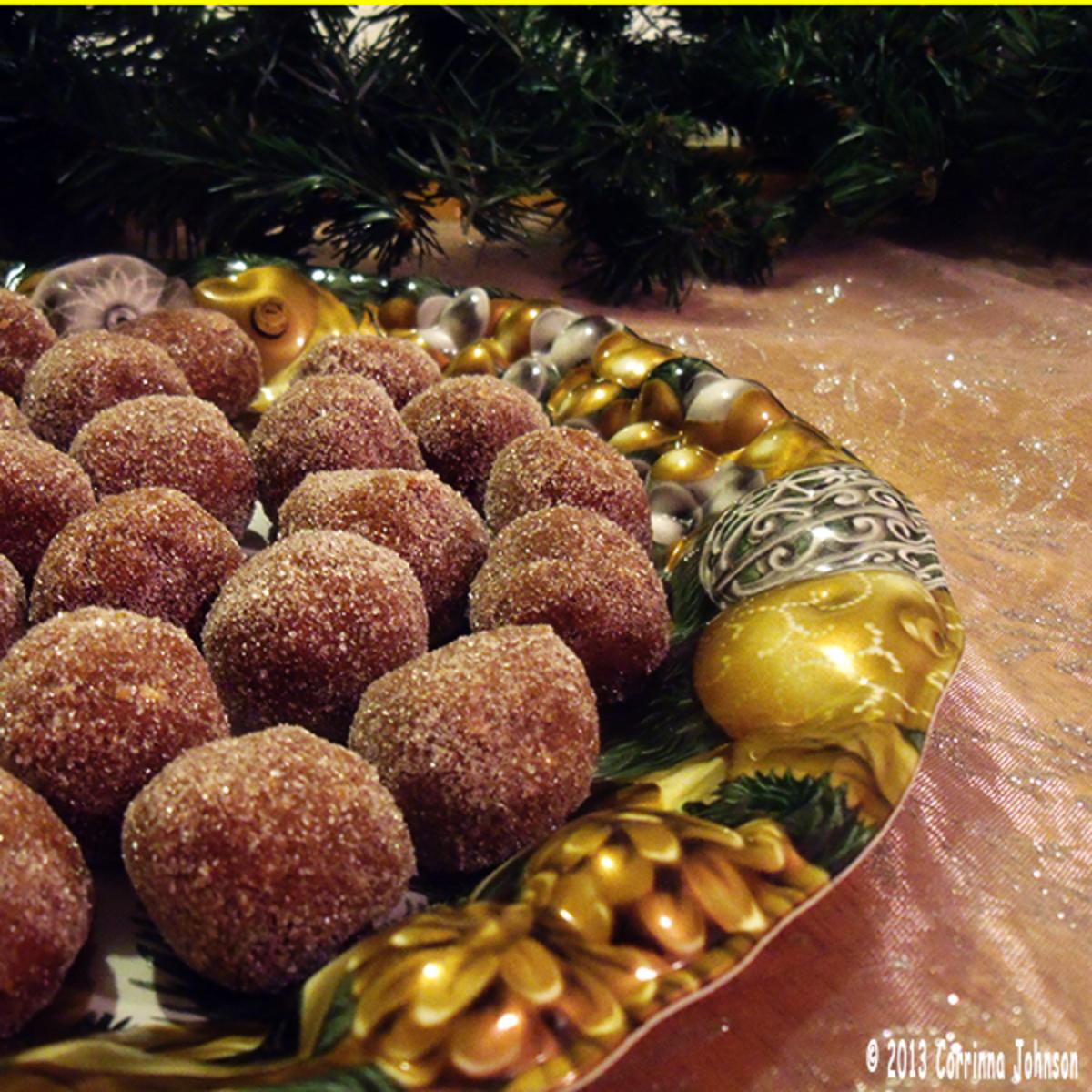Mom's No-Bake Chocolate Sugar Balls