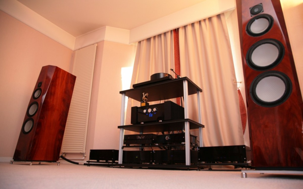 """A truly """"high-end"""" audio system."""