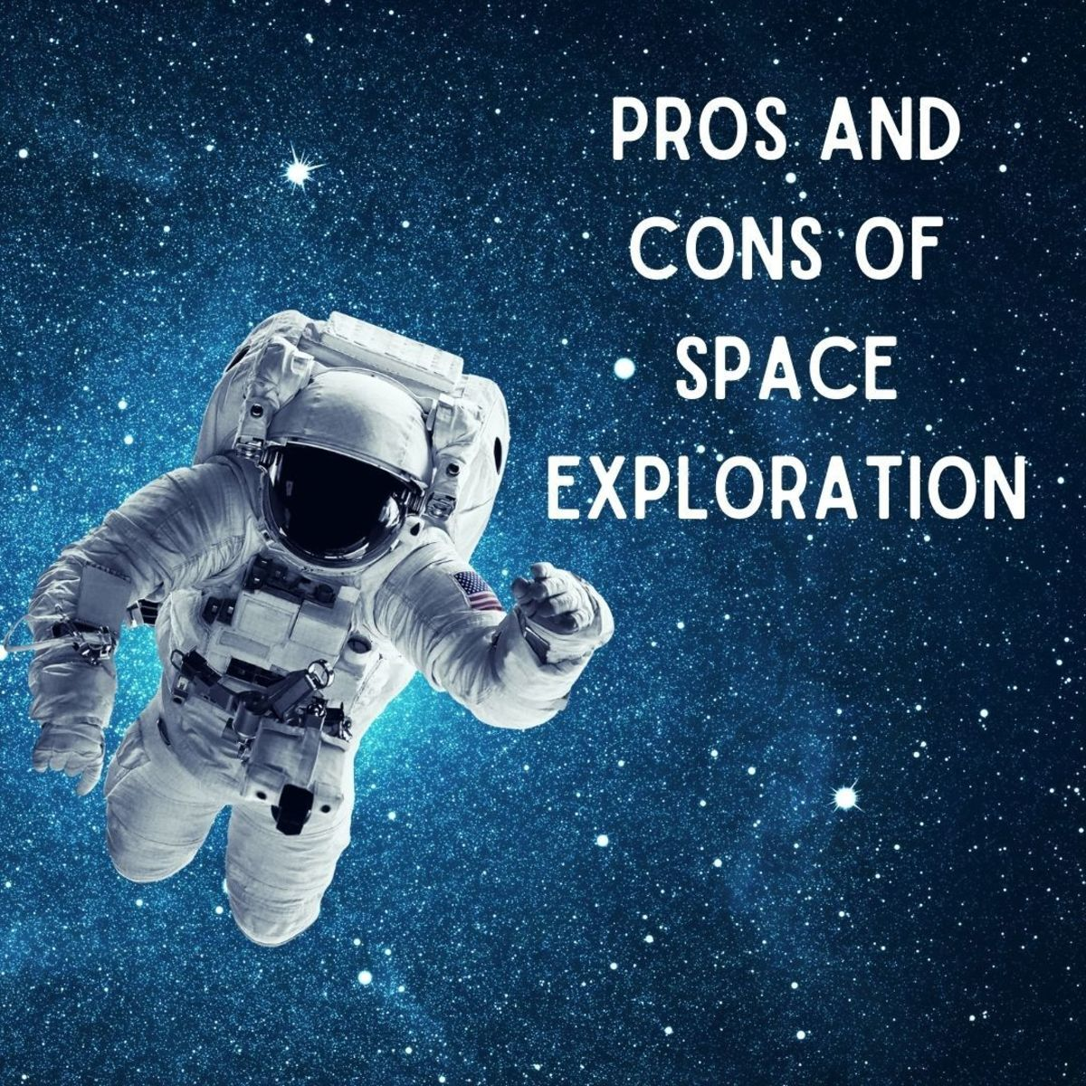 What are the advantages and disadvantages of continuing to explore outer space?