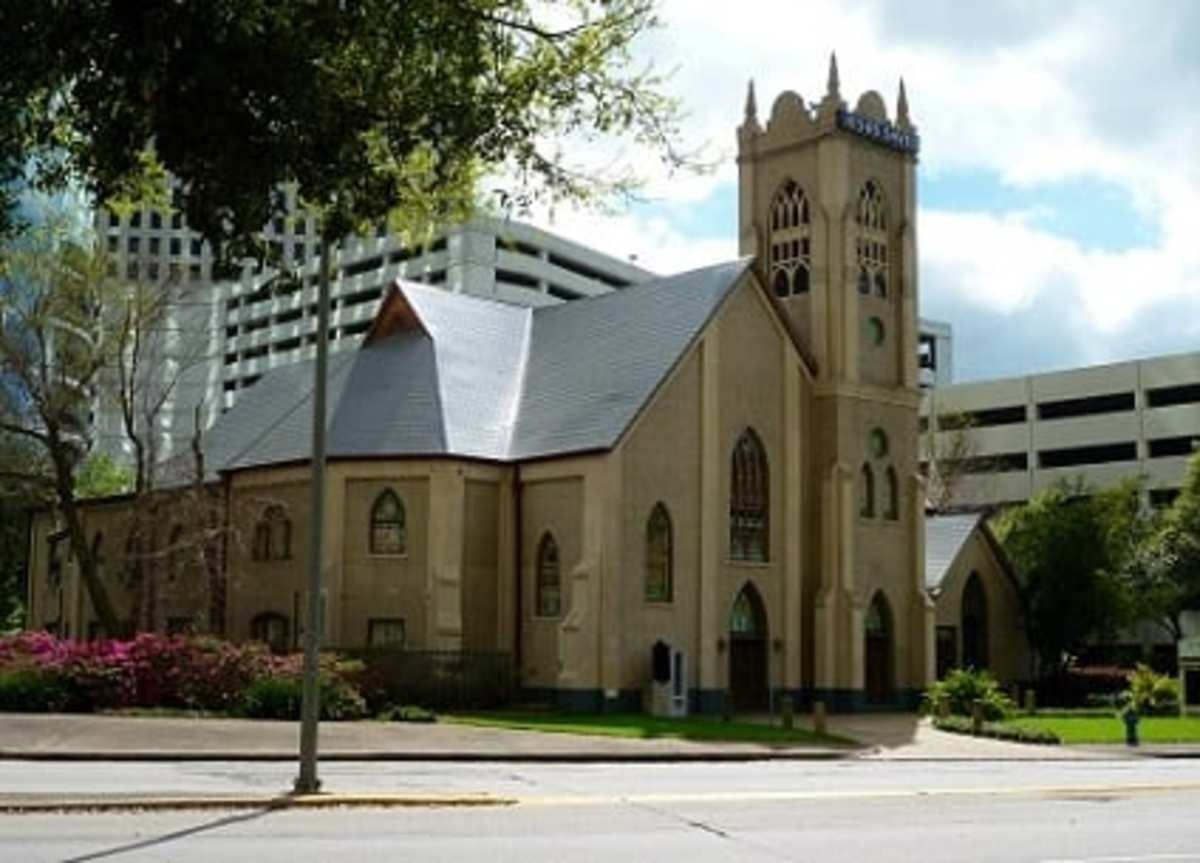 Antioch Missionary Baptist Church in downtown Houston