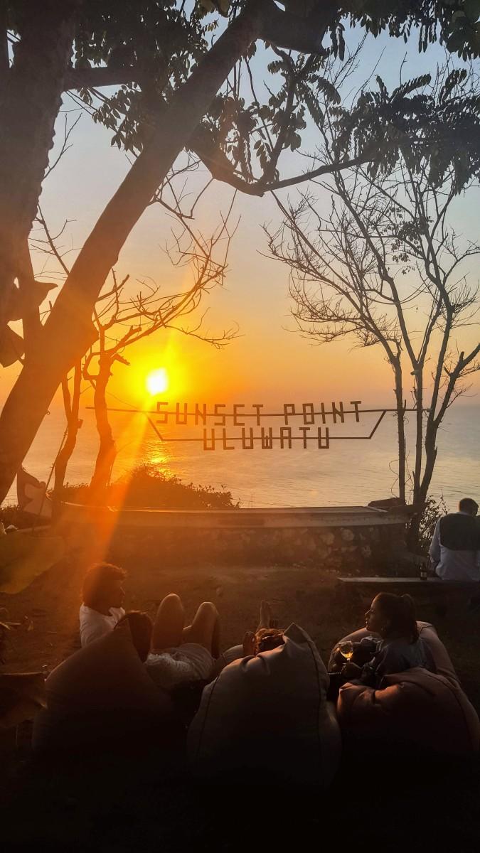 My favourite bar in Uluwatu—Sunset Point.