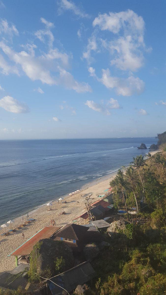Overlooking Thomas Beach