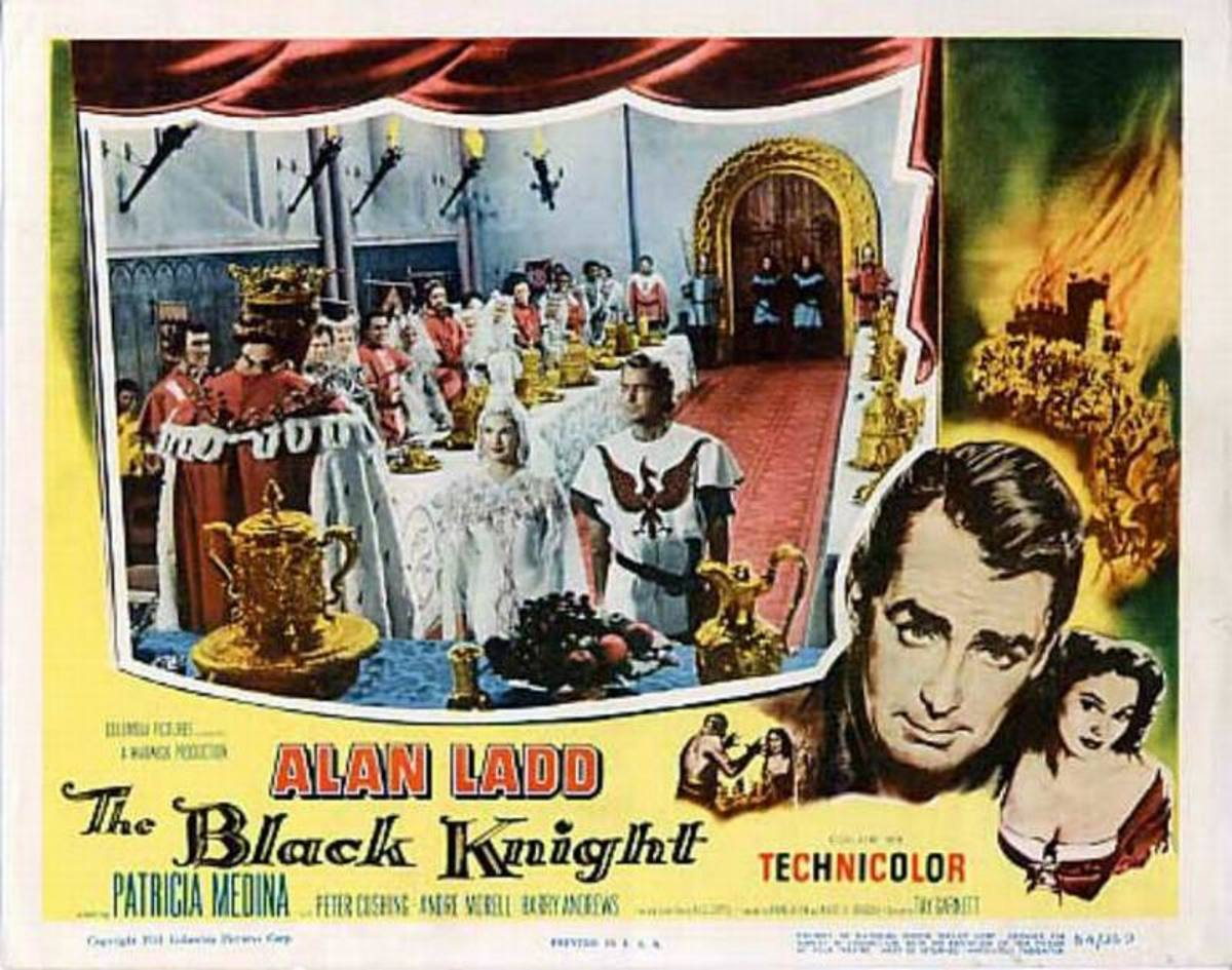 The Black Knight (1954) lobby card