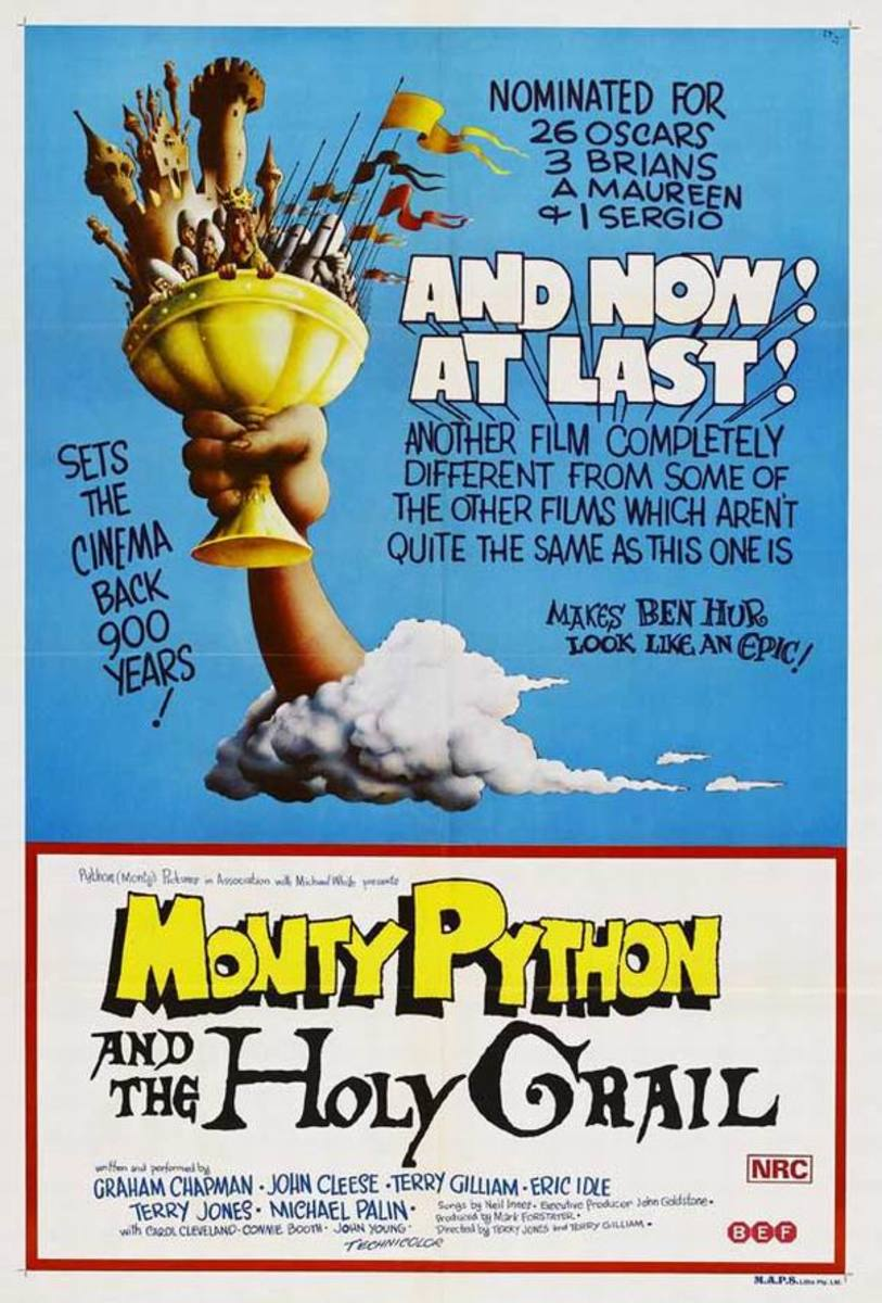 Monty Python and the Holy Grail (1975) poster