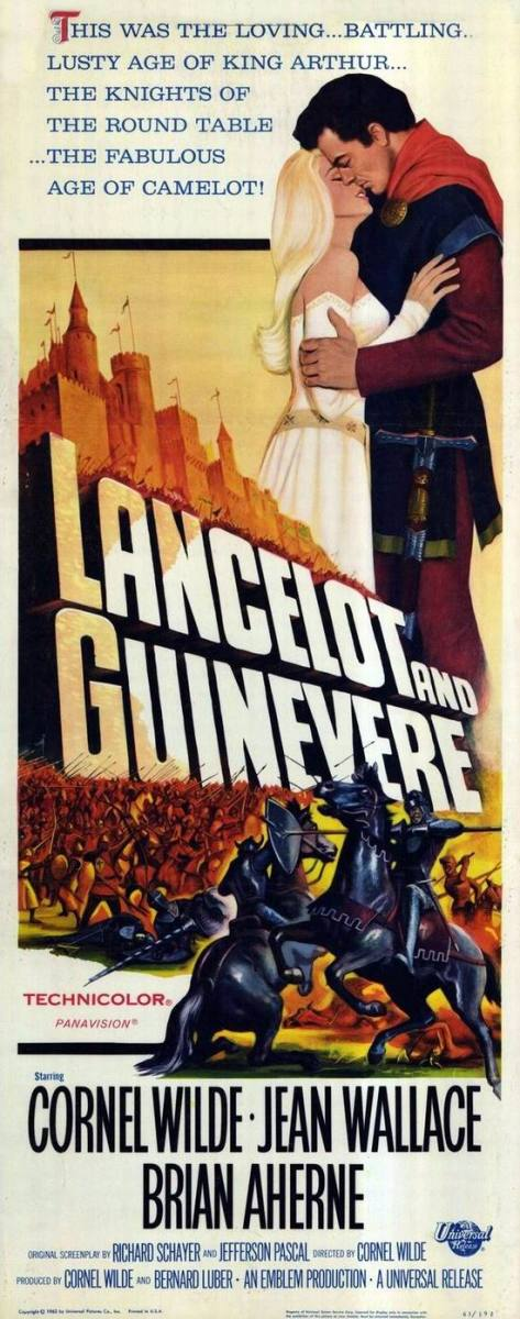 Lancelot and Guinevere (1963) poster