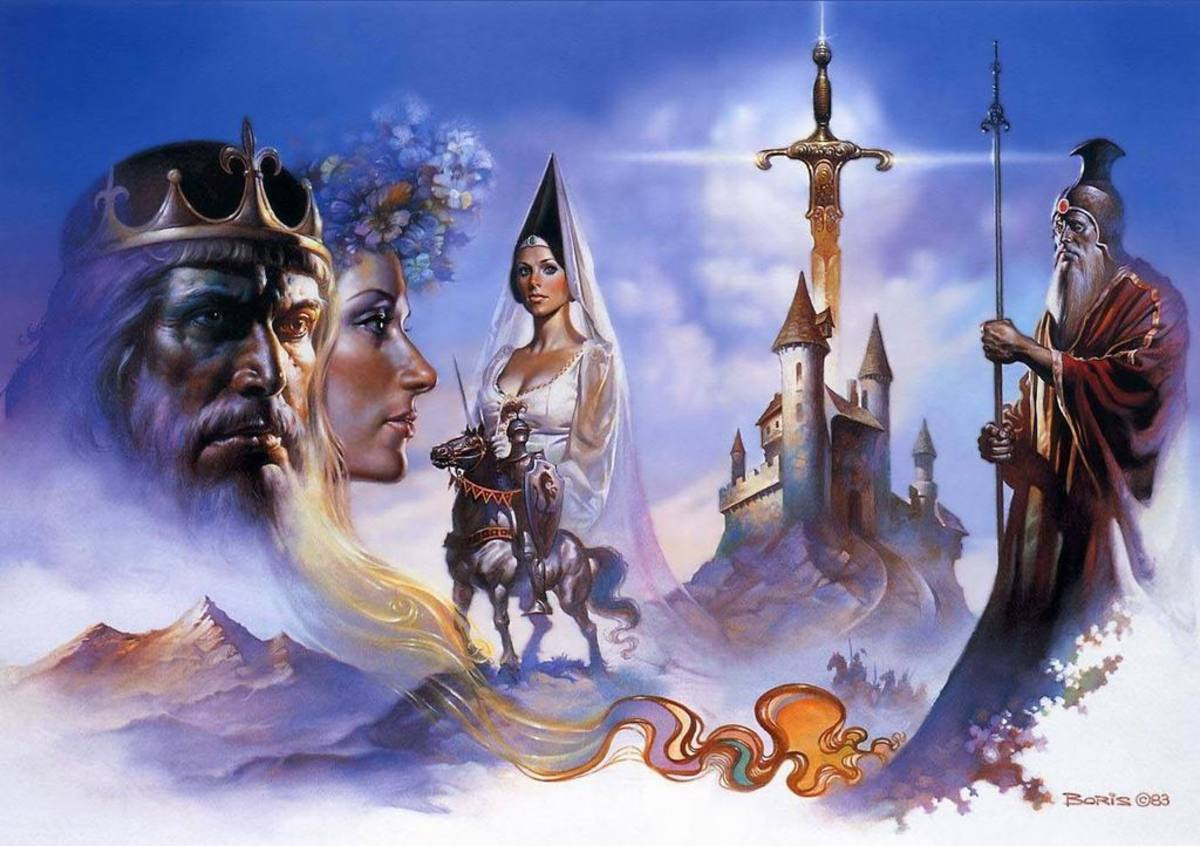 Camelot - art by Boris Vallejo