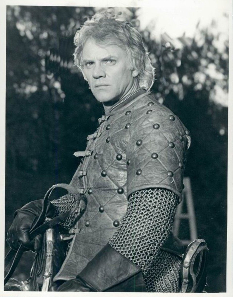 Malcolm McDowell as Arthur the King (1985)