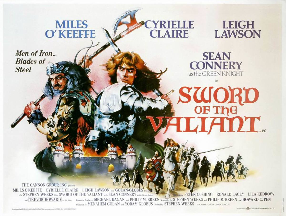 Sword of the Valiant (1984) poster