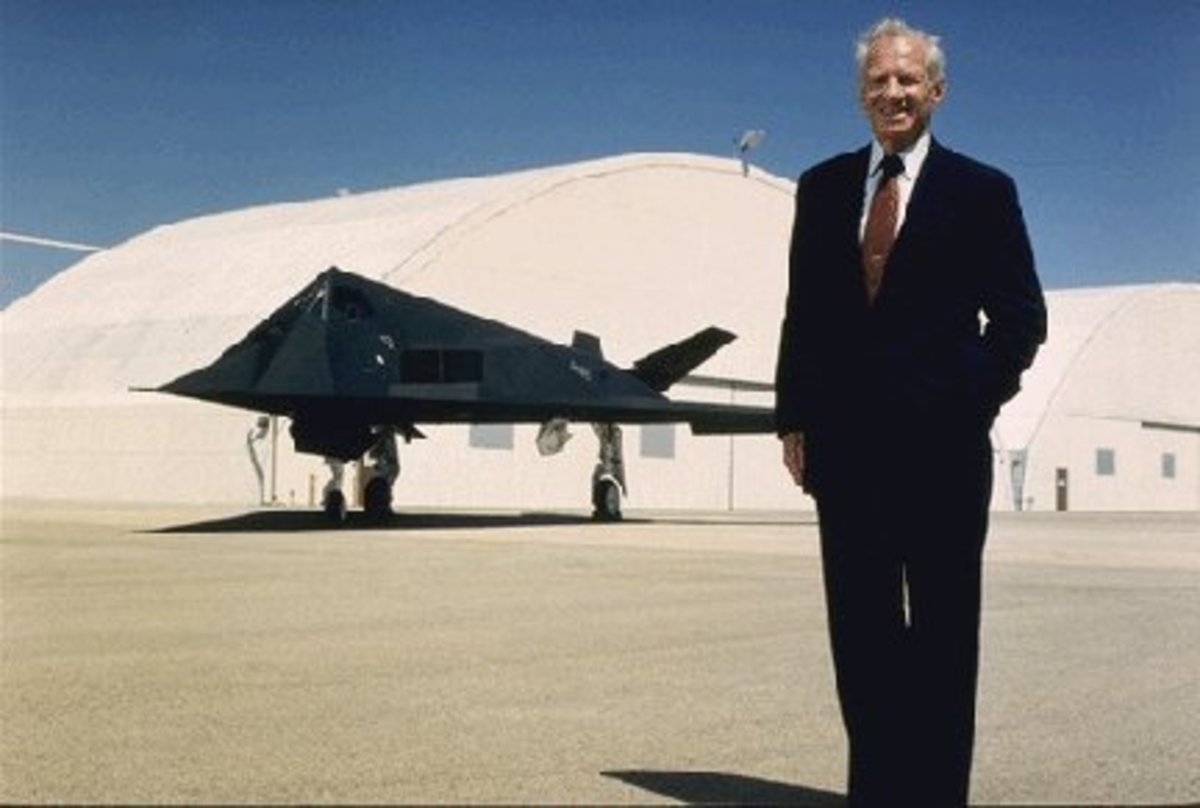 Former CEO of Lockheed Skunk Works, Ben Rich