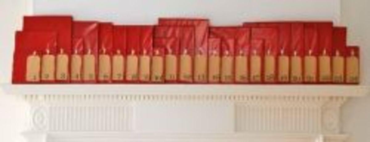 Book Advent Calendar DIY Idea