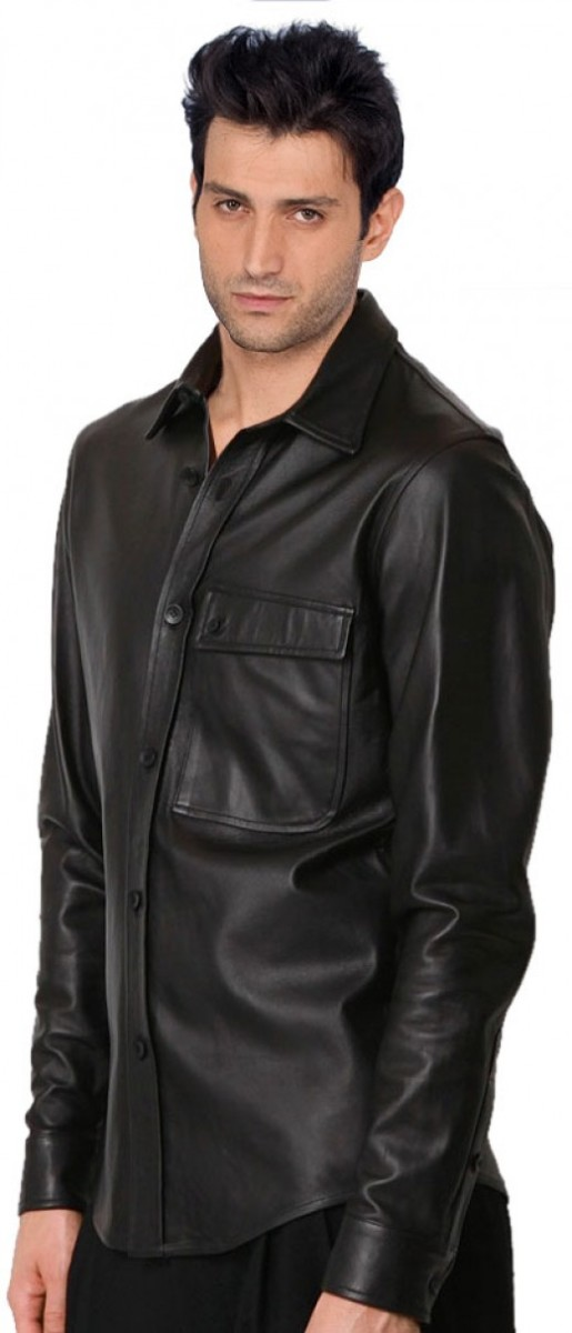 Best Men's Leather Shirts