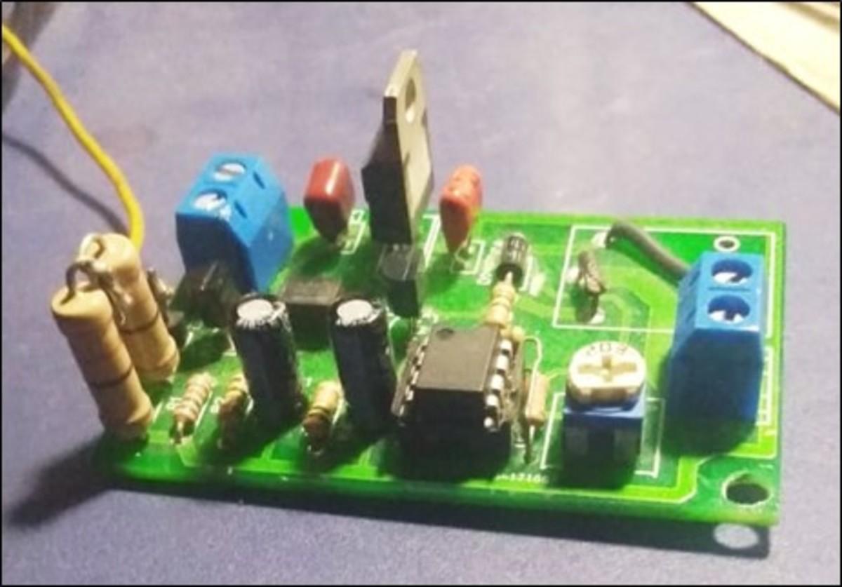 Figure 3-Original Compressor Interface Module (relay taken out)