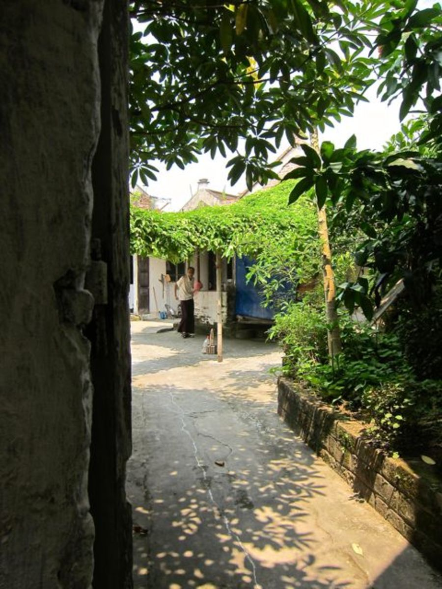 A Hidden Street in Bat Trang