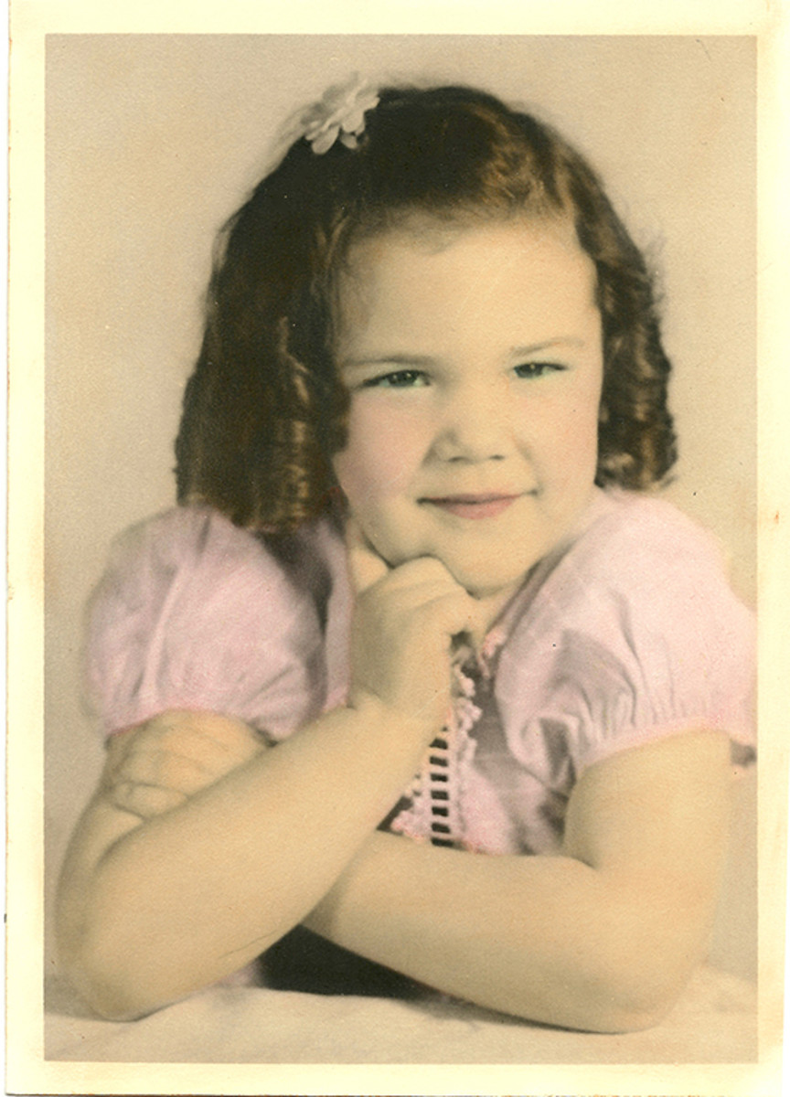 Okay, I was a Shirley Temple type of girl.