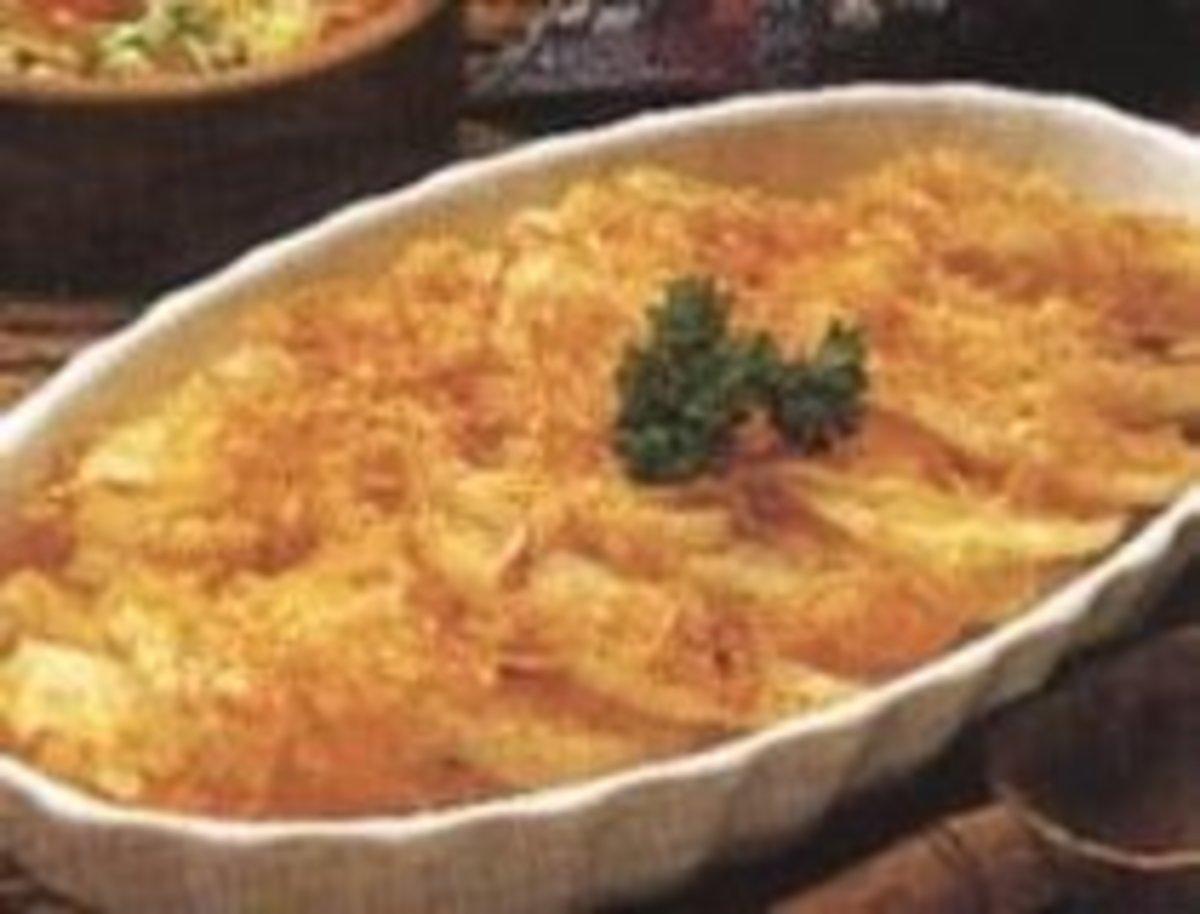 Potatoes Asiago Alfredo Recipe