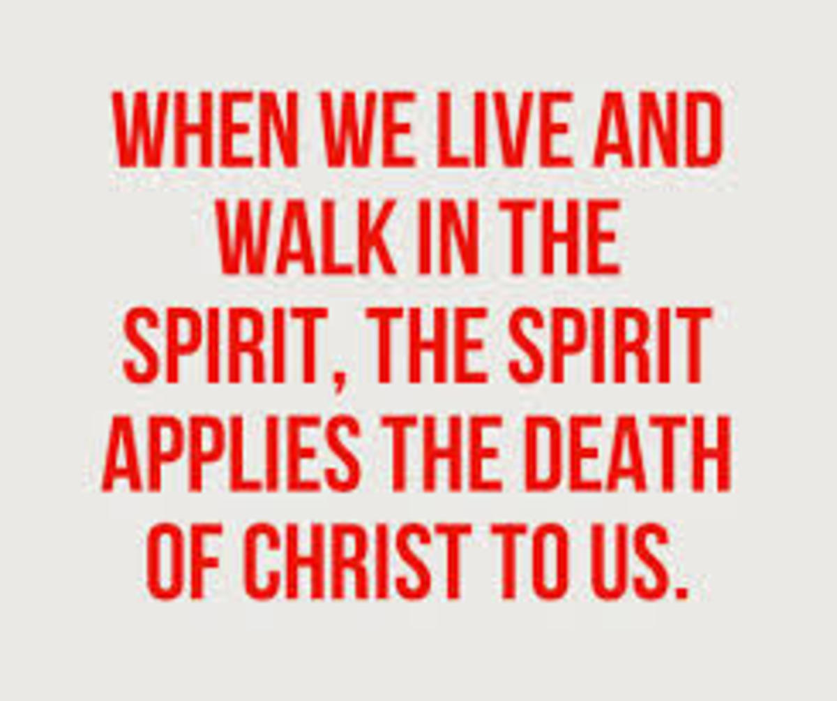 I am crucified with Christ, nevertheless I live. (Gal. 2:20)