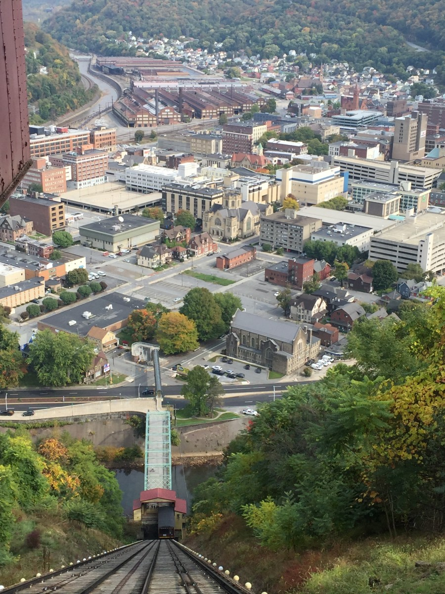 Johnstown has come back from the famous flood of 1889. This is a photo of Johnstown Nov 2020