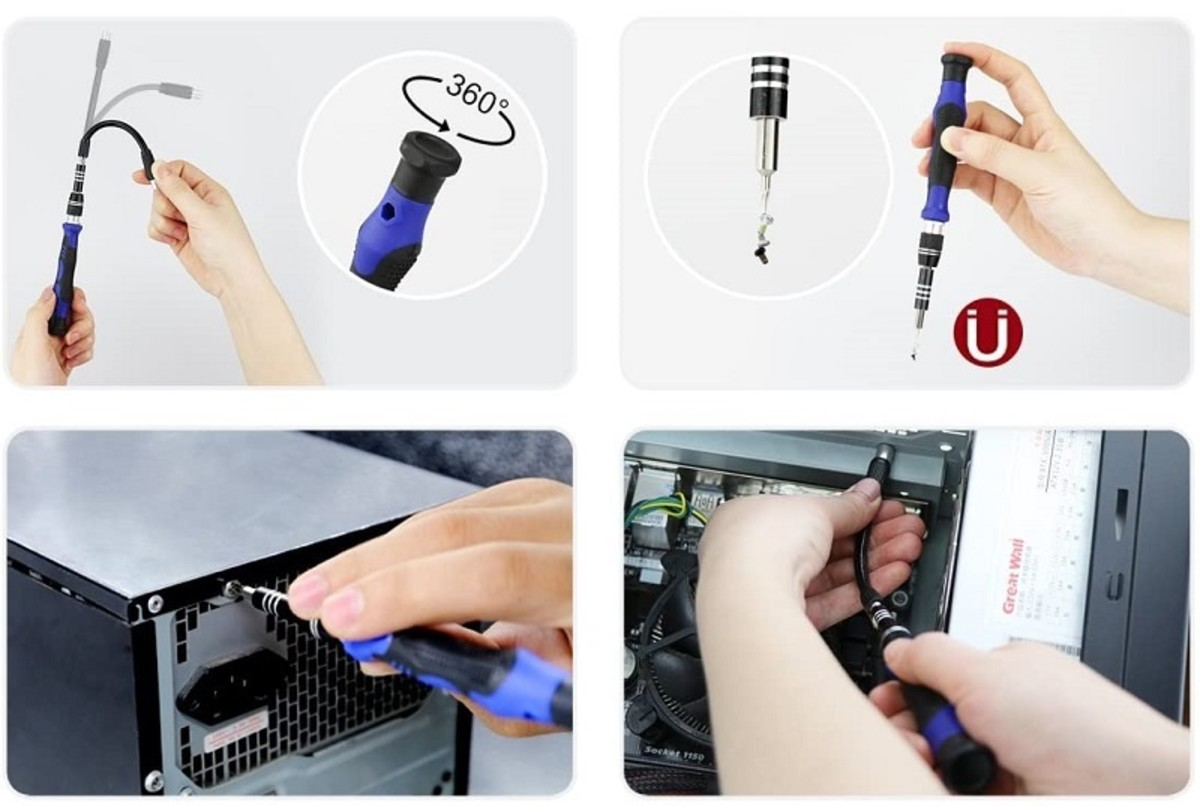 A computer repair kit enables you to reuse and recycle dead PCs and MACs.