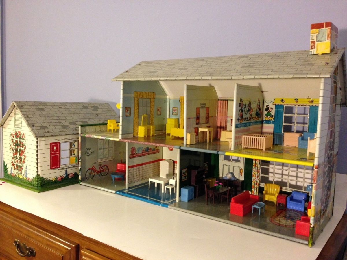 The dollhouse was one of my favorite Christmas gifts that I played with for hours.