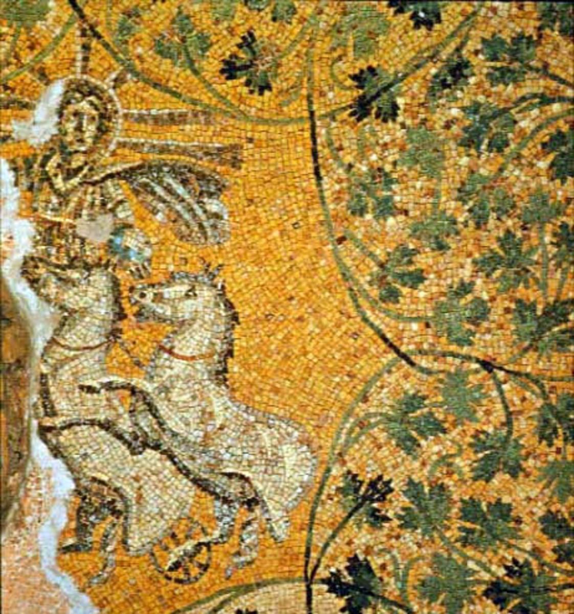 "Vine symbolizing Jesus; ""Christ As Sol"""