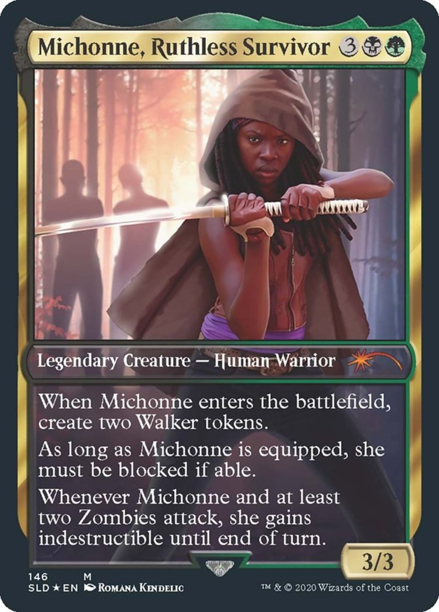Michonne, Ruthless Survivor mtg