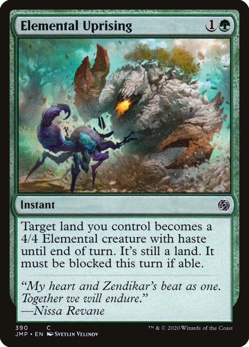 Elemental Uprising mtg