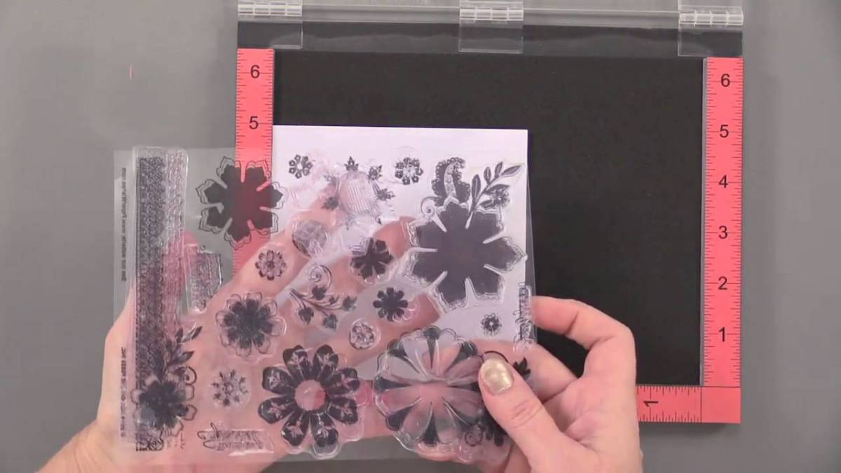 This tool is perfect for layering stamps. It creates a perfect layered image every time