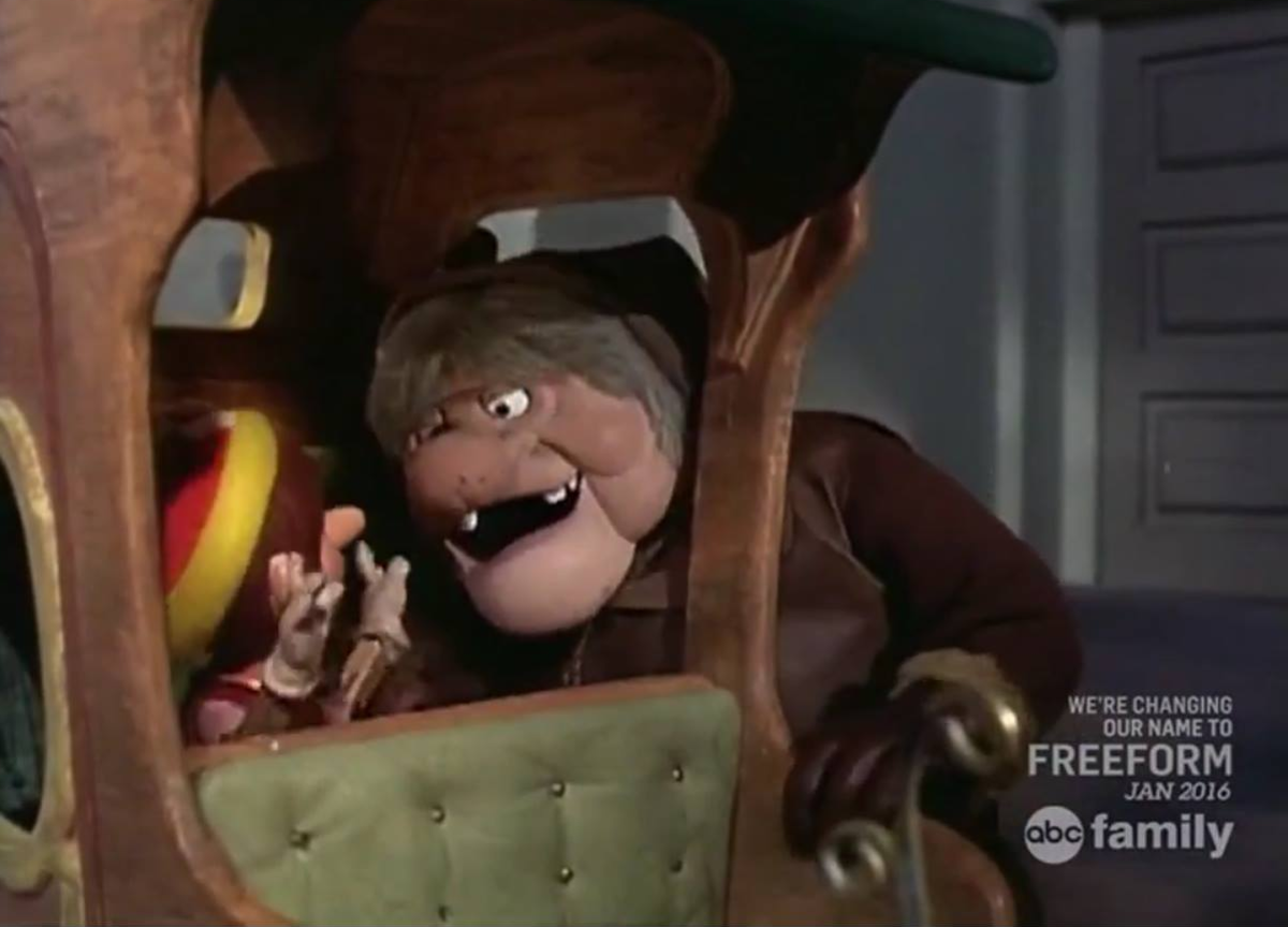 Pinocchio is captured by a greedy sleigh driver and sold to a duke.
