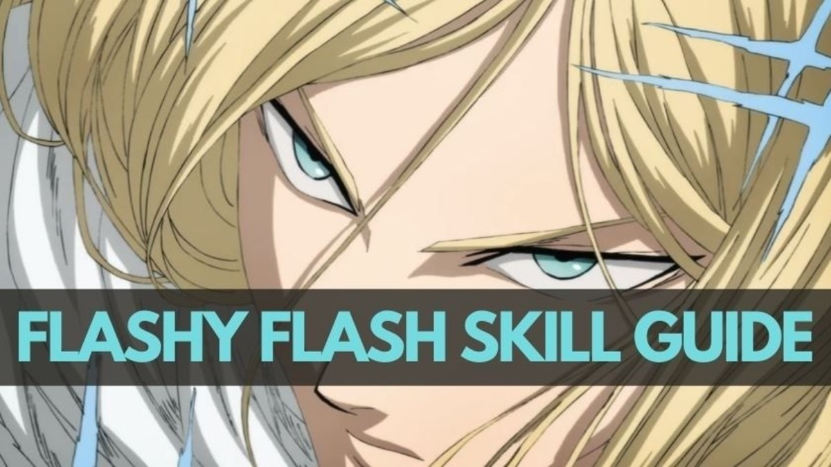 """Flashy Flash's Skills in """"One Punch Man: The Strongest"""""""