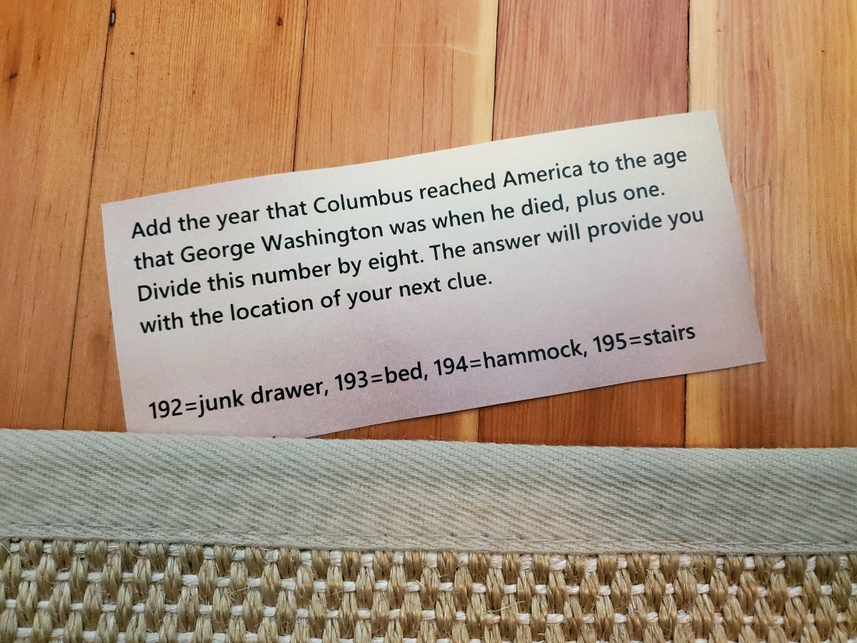 Of course, it was a picture of the rug! Looks like this clue requires some knowledge of historical facts.