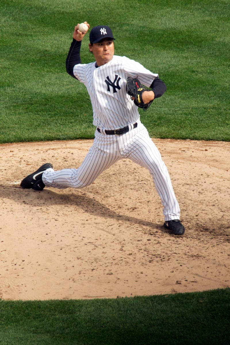 The New York Yankees were one of seven teams on which Chan Ho Park played during his 17-year career.