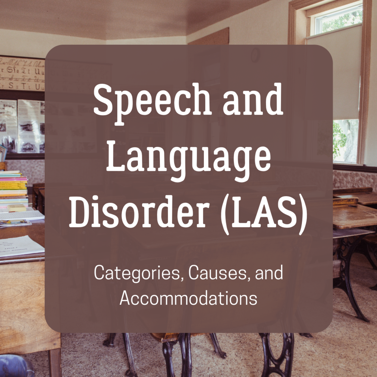 Learn more about speech and language disorder (LAS), including the different categories and how it's accommodated in the classroom.