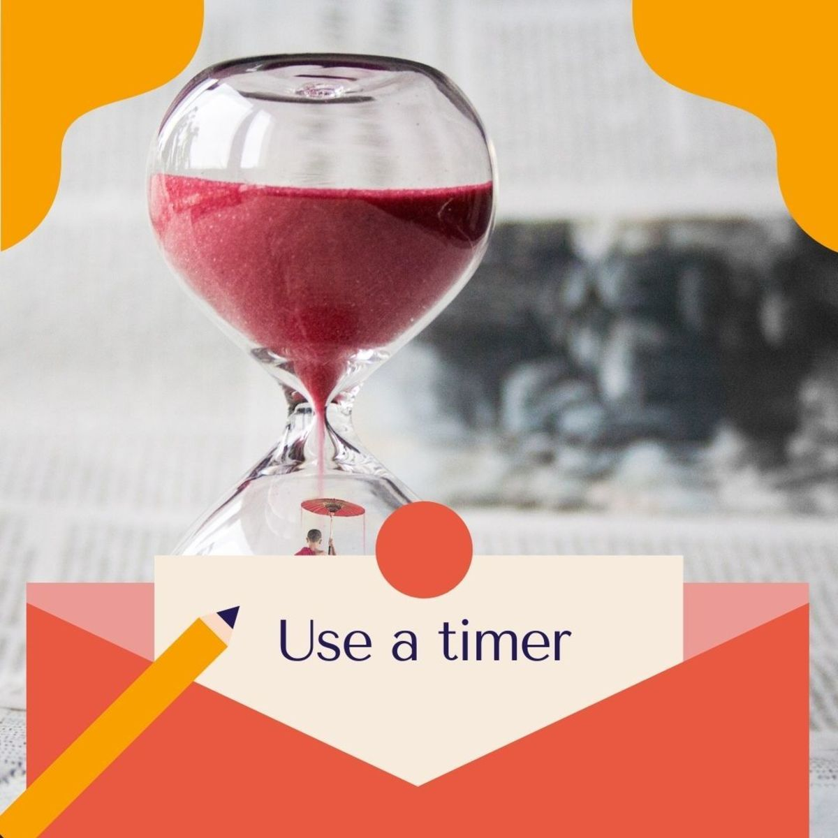 Use a timer for your tasks