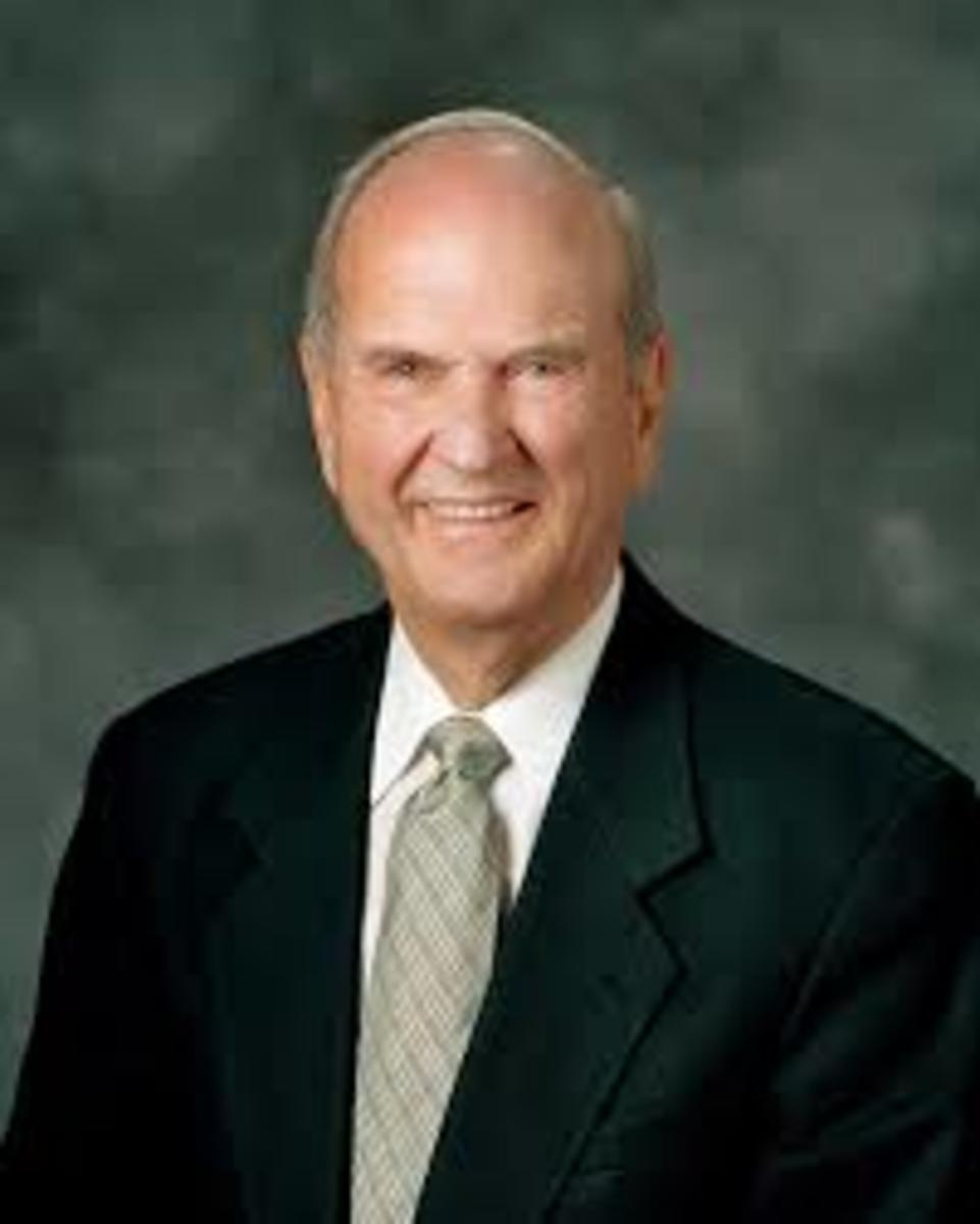 LDS Church President Russell M. Nelson