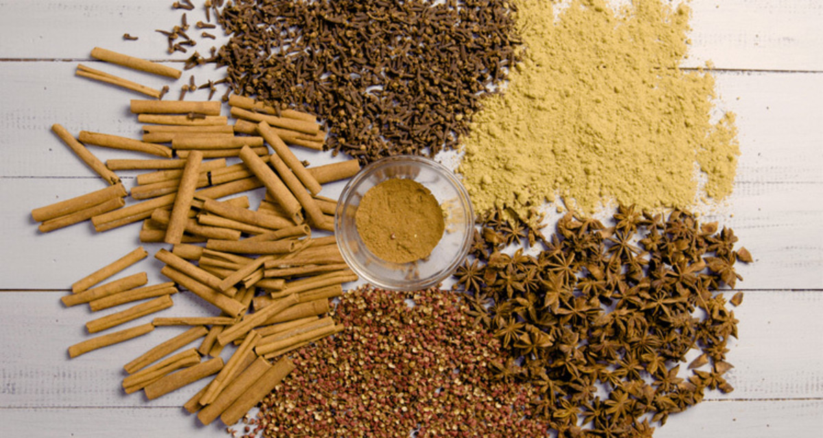 What goes into a five spice powder
