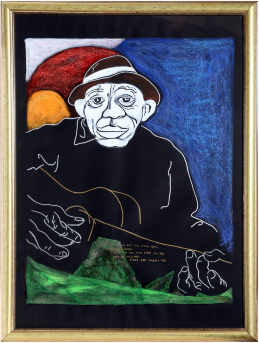 Mr. Hunt's framed paintings have appeared in Memphis hotels, restaurants, and bars.