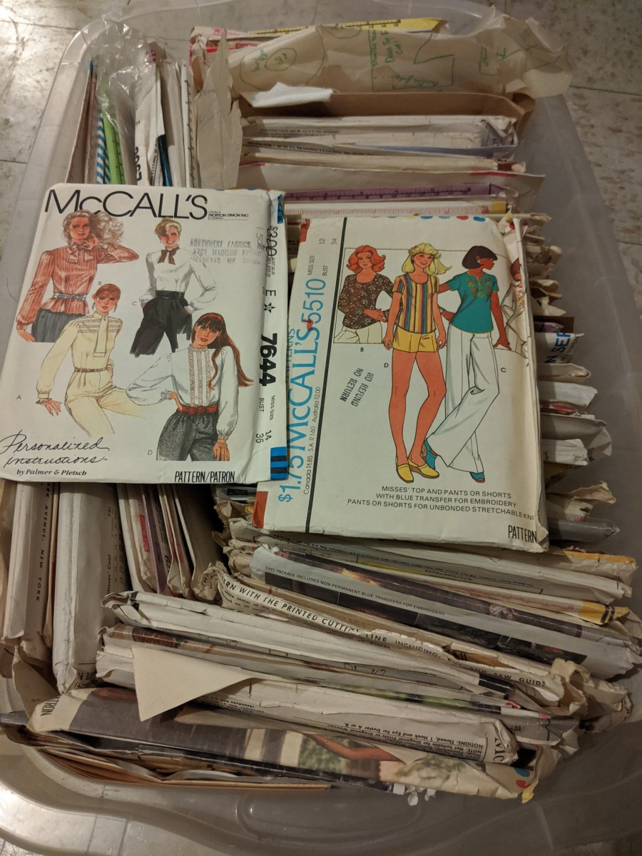 Collecting Vintage Patterns