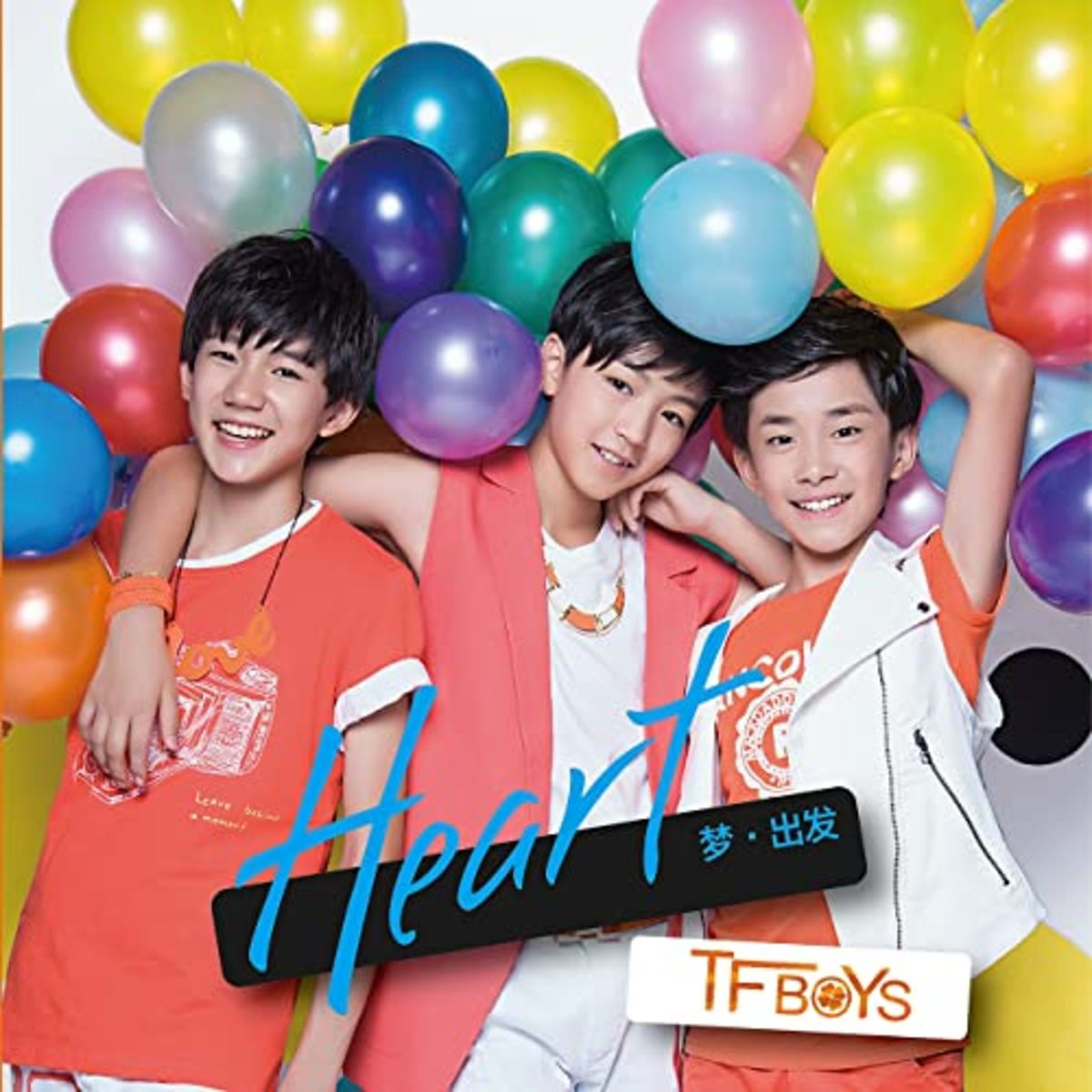 The album 'Heart, Dream & Start', released in 2013: it is one of the most famous albums by TFBOYS.